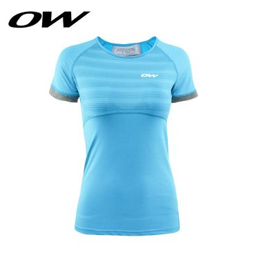 ONE WAY 反光印花吸湿速干女式运动T恤短袖 9617230107