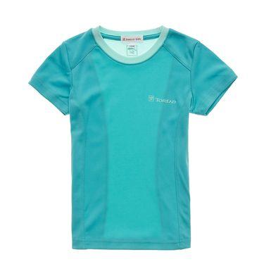 探路者 TOREAD 户外女童T恤 TTWK35211 弹力 透气 短袖