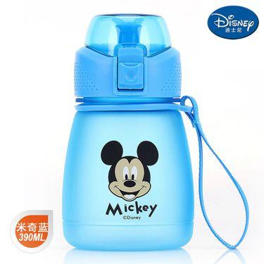 迪士尼 Disney-米奇蓝布丁直饮杯390毫升卡通孩学童水杯壶便携带提手休闲户外饮水杯壶