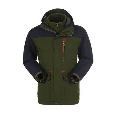 探路者 TOREAD 户外男式三合一套绒冲锋衣 TAWD91700 防风 防水 透气 保暖