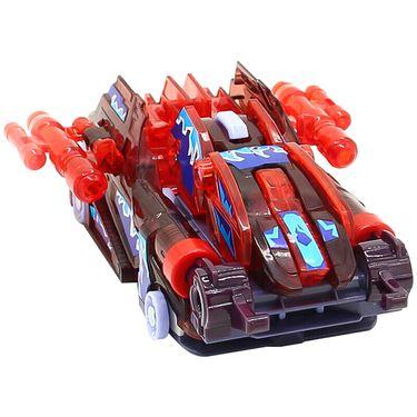 奥迪双钻 爆裂飞车3兽神合体变形玩具 合体弹射系列-炼狱684302