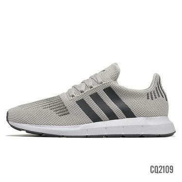 阿迪达斯 Adidas 三叶草男鞋 夏季新款运动鞋简版SWIFT RUN休闲鞋板鞋 CQ2109