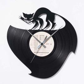 DIS C'O'CLOCK 意大利原产冒险旅程黑胶唱片碟挂钟钟表