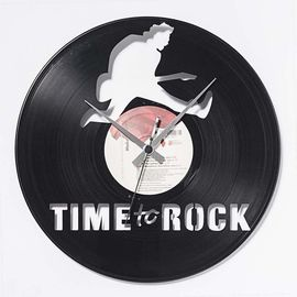 DIS C'O'CLOCK 意大利原产摇滚时间黑胶唱片碟挂钟钟表