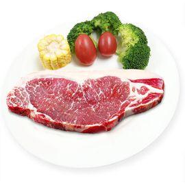 kiwifarm 奇异农庄 新西兰进口PS级西冷牛排四片装 180g*4 原切无腌制的好牛排 冷冻生鲜