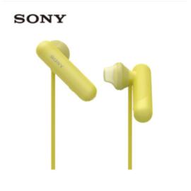 索尼 Sony无线立体声蓝牙耳机 无线防水运动耳机 iPhone X耳机免提通话WI-SP500
