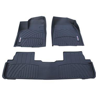 德盾  丰田汉兰达脚垫-专车专用 汽车防水耐磨橡胶 TPV环保  无味车垫