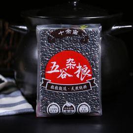 十余亩  黑米  做饭饭一把黑米更健康(无添加 无染色 东北 五谷 杂粮 粗粮 真空装 ) 380g/包  大米半略