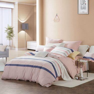 LOVO 尚品印花床上用品四件套/床品套件/床上四件套-魅力格调(被套:200x230cm)  VTT6484-4 pc