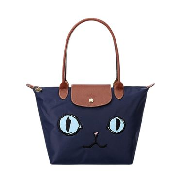 LONGCHAMP 珑骧Miao喵咪系列女包限量款猫咪手提包