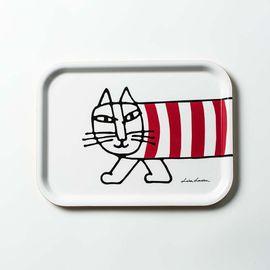 Opto Design 瑞典原产Optodesign 米琪猫系列木质托盘  红、黄、白、灰四色可选