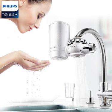 飞利浦 净水器水龙头净水器家用直饮自来水过滤器超滤净水机WP3811