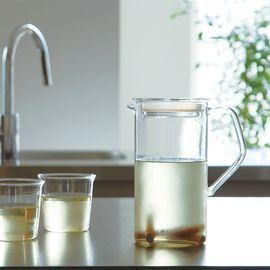 LIKUAI/利快 日本KINTO CAST耐热玻璃冷水壶饮料壶花果茶壶热冷饮壶