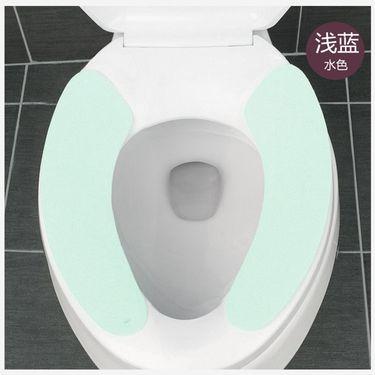 WORLD LIFE 日本马桶贴 马桶垫 座便器垫 马桶套 薄款 1对装