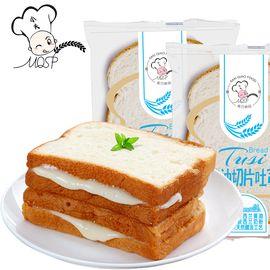小夫 【黄油切片吐司面包800g整箱装】夹心营养早餐手撕面包糕点批发零食