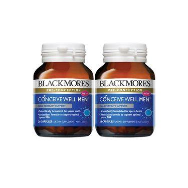 BLACKMORES/澳佳宝 男性备孕黄金营养素28片提升精子活力 澳洲进口 REX