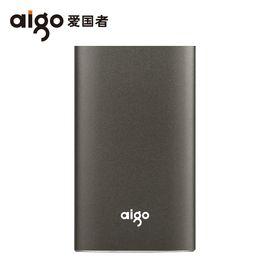 aigo 爱国者S01 固态移动硬盘USB3.0高速 SSD移动固态硬盘120G