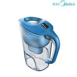 美的 滤水壶 过滤净水器净水壶净水杯 蓝色 QC1751A