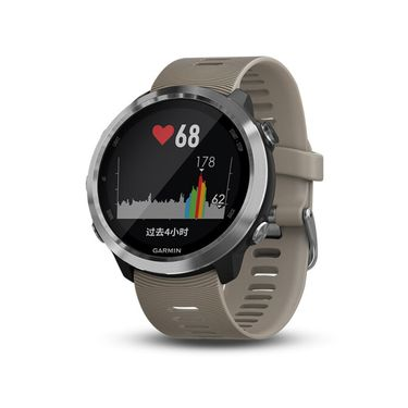 GARMIN 佳明 Forerunner 645光电心率进阶多功能GPS运动智能手表 砂石色
