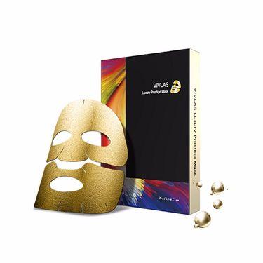VIVLAS/唯兰颂 茶秘系列面膜 黄金锡纸面膜 5片/盒