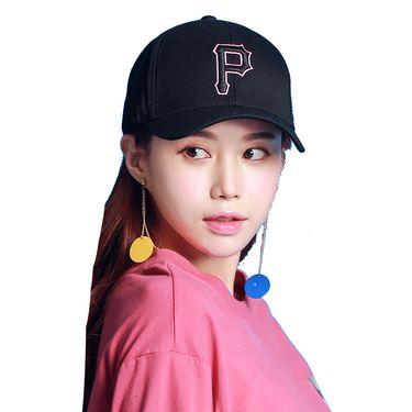 MLB 棒球帽匹茨堡海盗队 女款鸭舌帽休闲遮阳帽 32CP85711-11L