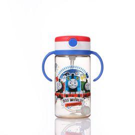 托马斯  Thomas&FriendsPP SU大水壶-蓝柄300ml 儿童水壶水杯 吸管杯宝宝杯 水杯水壶学饮杯【全积分兑换】
