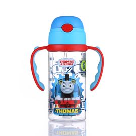 托马斯 Thomas双柄背带水杯-红柄380ml TRITAN安全材质宝宝冷水杯学饮杯水杯【全积分兑换】