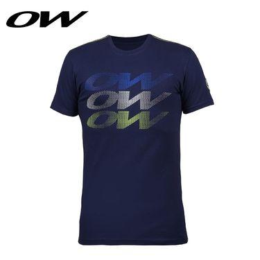 ONE WAY 渐变印花休闲大方男款运动T恤短袖 9516330102