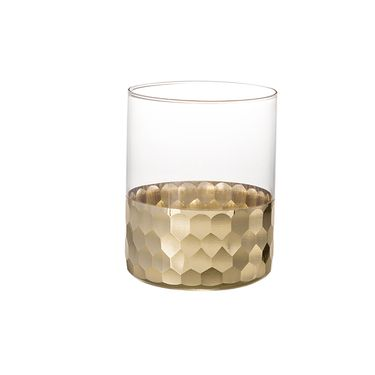 奇居良品 金箔玻璃水杯冷水壶套装