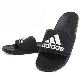 阿迪达斯 Adidas男子夏季新款NEO运动拖鞋休闲一字拖户外耐磨凉鞋拖鞋CG3425