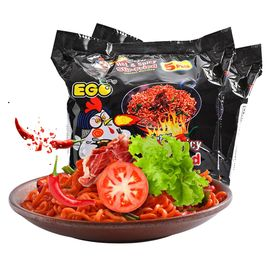 EGO 超辣火鸡拌面方便面速食泡面140g*10