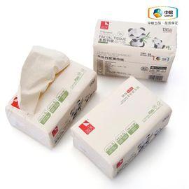 中粮 简沃本色面巾纸3包装(130抽*3包)高纤维 不易破
