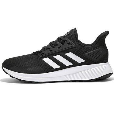阿迪达斯 ADIDAS男运动鞋夏秋新款DURAMO 9网面透气低帮减震跑步鞋BB7066