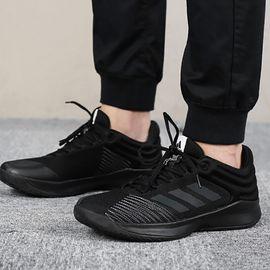 阿迪达斯 男鞋篮球鞋秋季新款舒适耐磨运动鞋缓震低帮基础篮球鞋BB7539