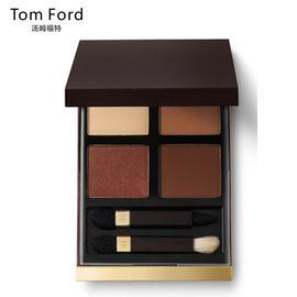Tom Ford 汤姆福特幻魅四色眼影盘10g 03#Cocoa mirage 眼部修容不晕染哑光TF眼影