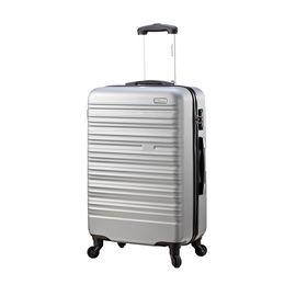 DIPLOMAT 外交官 商务休闲拉杆箱登机箱万向轮YH-6203 24英寸 60CM*26CM*42.5CM 黑色、银色