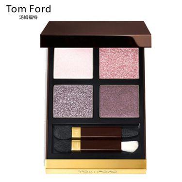 Tom Ford 汤姆福特幻魅四色眼影盘 10g 12#Seductive rose  眼部修容不晕染哑光TF眼影