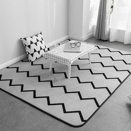 卡佩利丝 2018新款绒地垫-波浪(多规格可选)客厅地垫茶几垫飘窗垫YYJ