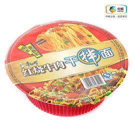 康师傅 干拌红烧牛肉面(碗装 126g)