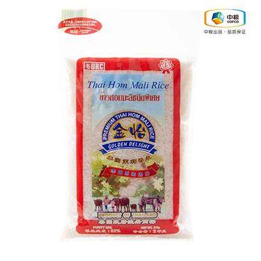 中粮 Golden Delight Thai Rice 金怡泰国茉莉香米 2kg (泰国进口 袋)