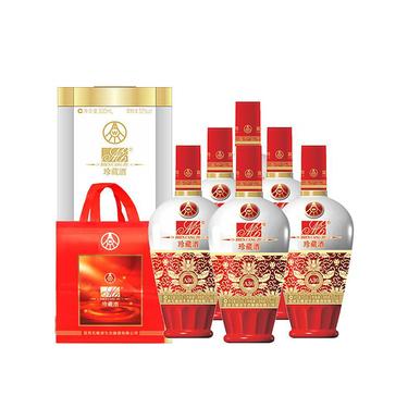 五粮液 生态酿酒 竹荪酒 珍藏酒 52°  500ML*6瓶【专享特惠】