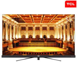TCL 55英寸64位34核人工智能哈曼卡顿音响4K平面电视黑色55C6