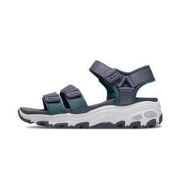 斯凯奇 Skechers女鞋新款D'lites休闲快干凉鞋 时尚熊猫鞋31658