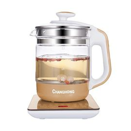 长虹 1.8L养生壶煮茶壶玻璃电水壶烧水壶炖煮 两用壶多功能 CYS-18D08S
