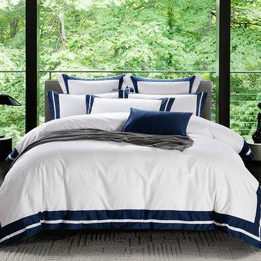 艾桐 宾馆酒店系列床上用品 纯棉60支纱 贡缎四件套 天骄系列