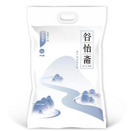 谷怡斋 2018当季新米 五常生态香米5kg/袋 稻花香大米 东北大米