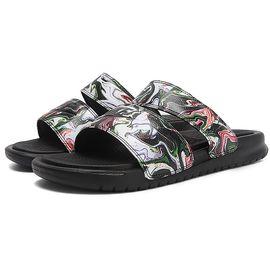 耐克 NIKE女子夏季新款 Benass透气防滑舒适家居户外休闲印花沙滩鞋凉鞋拖鞋819717-003