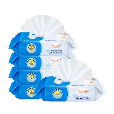 五羊 手口湿巾80*5