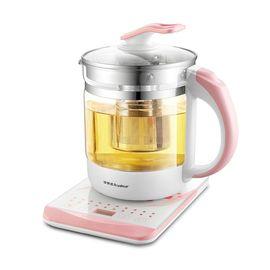 荣事达 养生壶玻璃加厚煮茶壶煮茶器暖奶器烧水壶花茶壶1.8L多功能 YSH1885