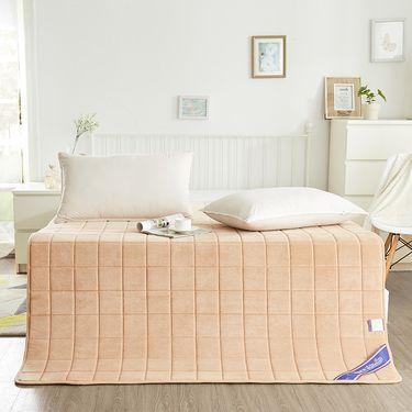艾桐 宝宝绒薄床垫 慢回弹记忆棉床褥子
